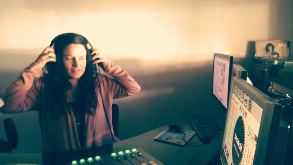 Nicole Inez live auf Radio Helsinki