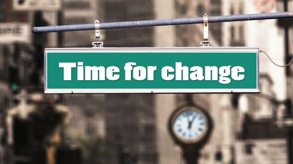 Warum ist Veränderung von Zeit zu Zeit so wichtig?