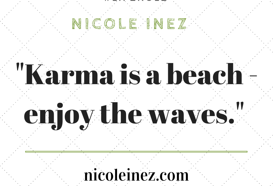 Zitat zum Thema Karma