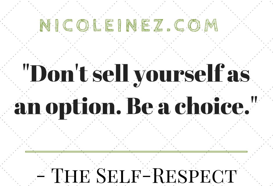 Zitat zur Selbstachtung